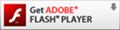 get adobe flash player logo